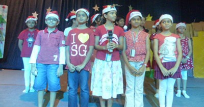 Students celebrate the joy of Christmas at GIIS Balestier Campus