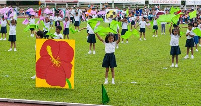 Students display zealous spirit at Annual Sports Day 2012