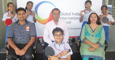 GIIS Kuala Lumpur Campus U-12 students clinch 10 medals at Inter-school Table Tennis Tournament