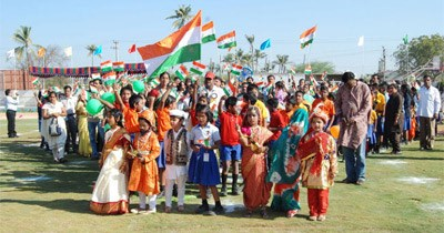 62nd Republic Day at GIIS, Uppal on 26th January, 2011