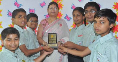 GIIS Surat Campus wins Young Intach Heritage Award 2012