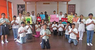 Spreading the Message of Universal Peace