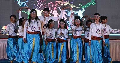 Winning many hearts through the language of dance & music; 2nd Inter-GIIS competition of performing arts