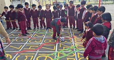 To Enhance Pre Number And Concepts Of Primary Kids GIIS Noida The Teachers Planned Innovative Activities Through Games That Relate