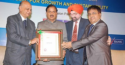 Institute Of Directors bestows 'Distinguished Fellowship' award to Atul Temurnikar, GSF Chairman