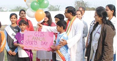 First Annual Sports Day and Republic Day @ GIIS Ahmedabad