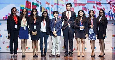 GIISMUN 2015 highlights students' leadership skills and fosters team building