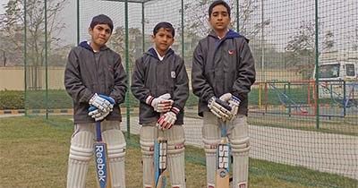 Champions in the making; Cricketers of GIIS Noida take part in GIIS Global T/20 Cricket Tournament in Singapore