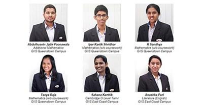 GIIS students achieve @aps@Top in the World@aps@ results in Cambridge Learner Awards