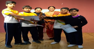 GIIS Tokyo Chess Champions felicitated at the school