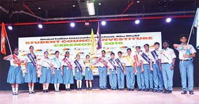 Investiture Ceremony @ GIIS Abu Dhabi