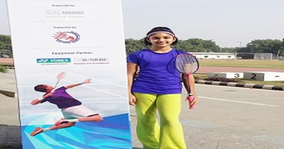 Shuttling Her Way To Success : Aarushi Chandel