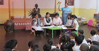 'Respect has to be earned', learn GIIS Ahmedabad kindergartners