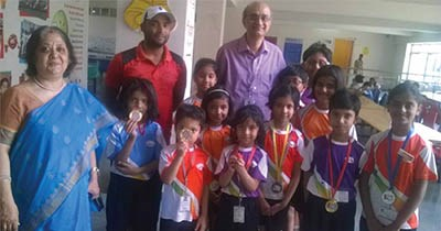 GIIS Noida outshines in the 2016 Skating Championship