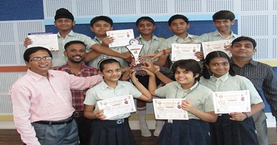 GIIS A'bad bags first place in singing among 35 schools!