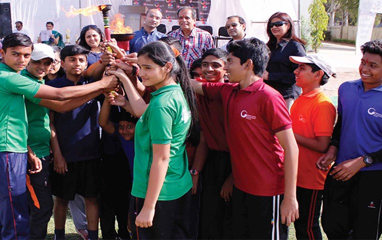 Global Indian International School organized an Inter GIIS Sports Championship in Indore