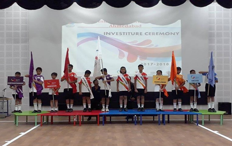 Investiture Ceremony at GIIS Ahmedabad: New Student Council took Oath