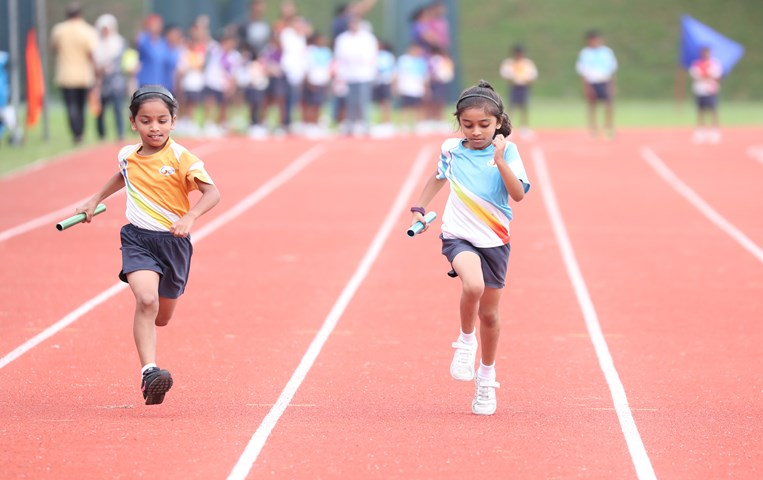 Sports Day encourages collaboration and teamwork with plenty of fun