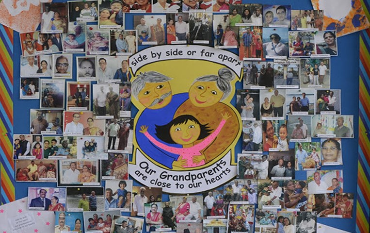GIIS-KL Kindergarten Appreciates Grandparents
