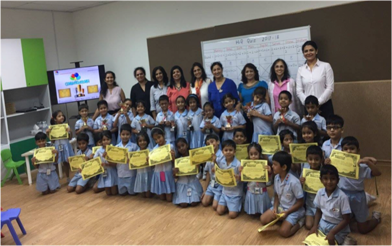 Interdisciplinary Hi-Q competition held exclusively for kindergarteners at Mountbatten campus
