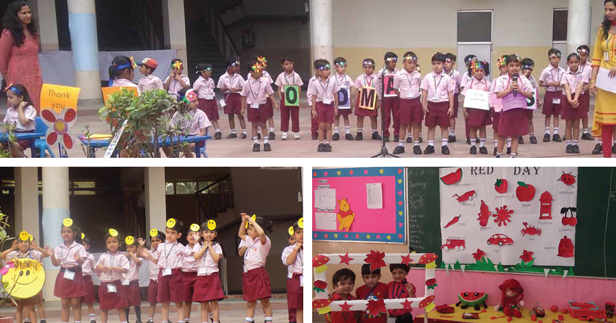 Giis Noida Pre Primary Activities At A