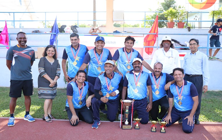 Sporty parents take to the field in sports tournaments