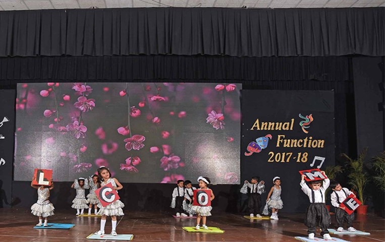 Arcus - the colours of innocence; GIIS Indore celebrates 6th annual day function