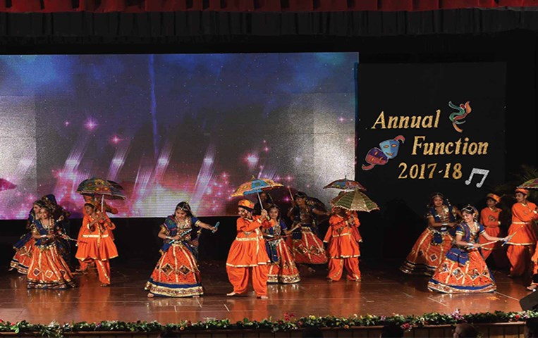 Arcus - the colours of vibrance; GIIS Indore celebrates annual day for primary wing