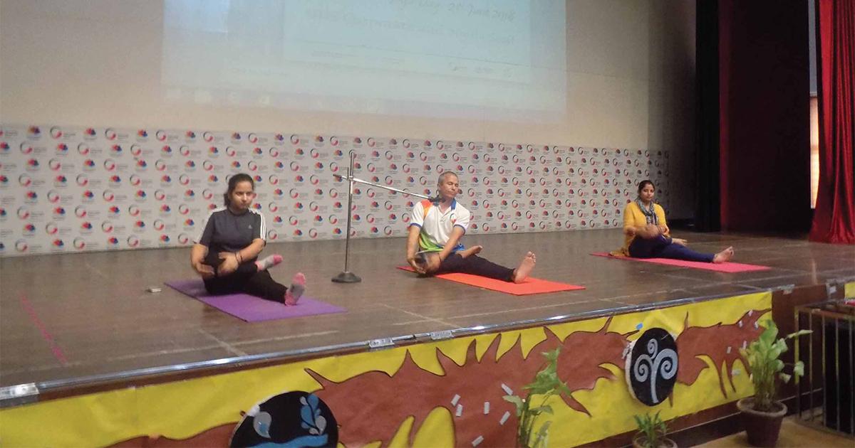 International Yoga Day Celebrations An Expert Yoga Instructor