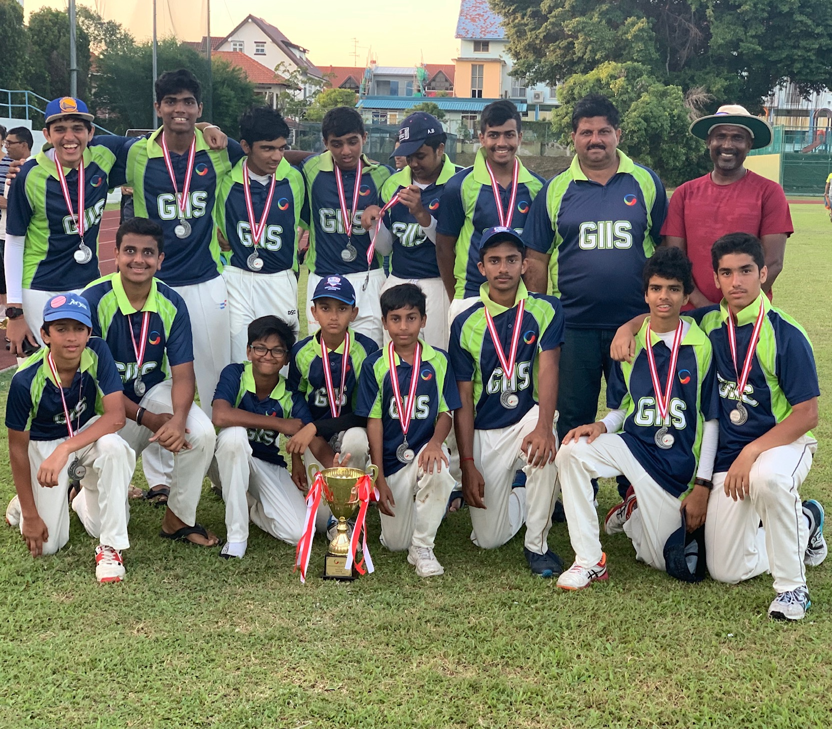SMART Campus team is runner-up at Chandu Borde T20 Tournament