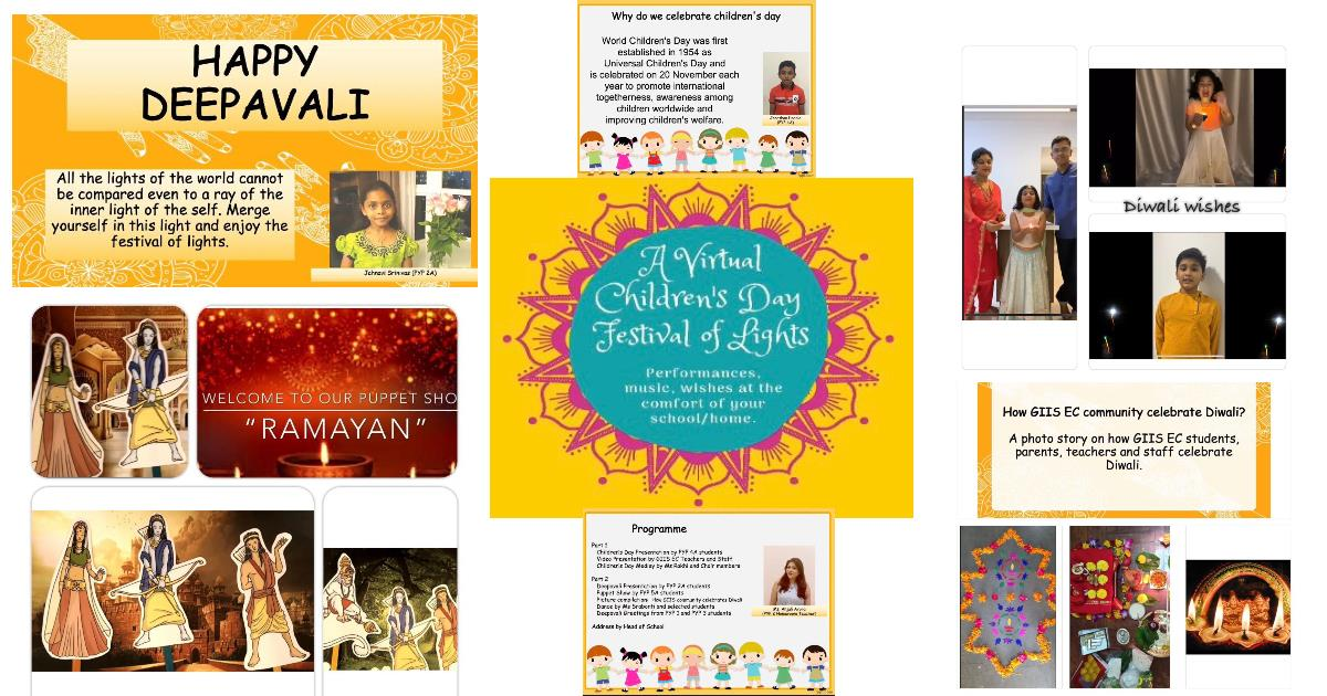Children's Day and Deepavali celebrations