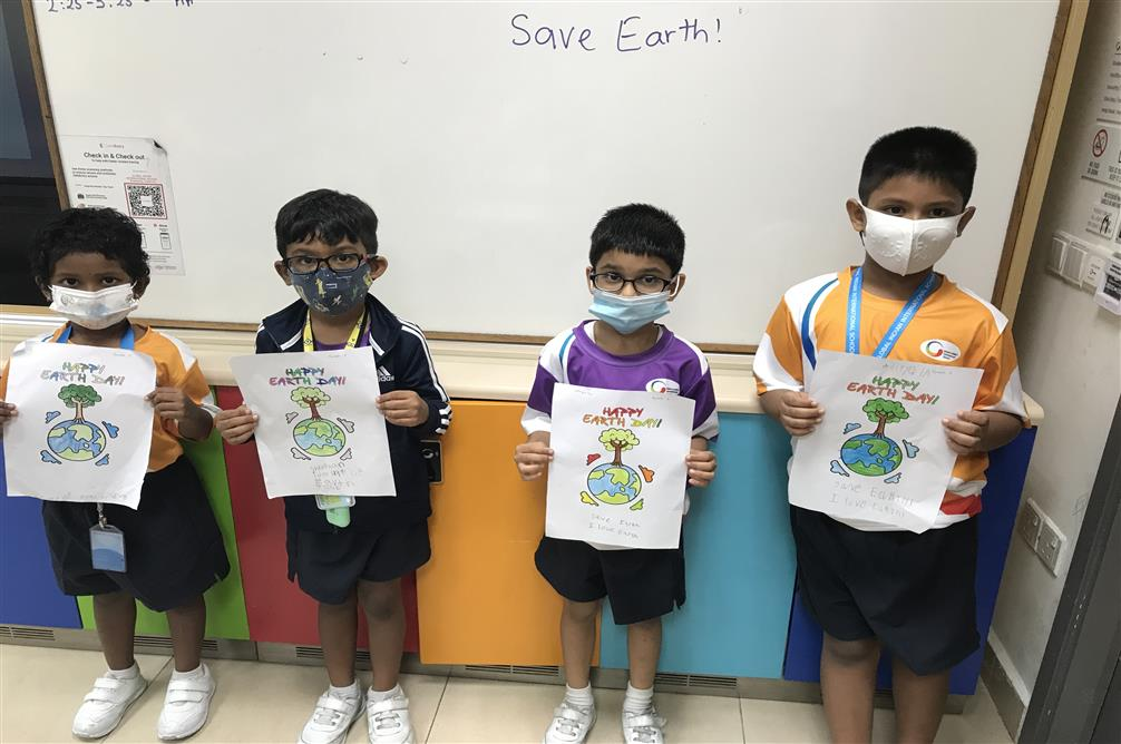 Earth Day 2021 celebrated at GIIS SMART Campus