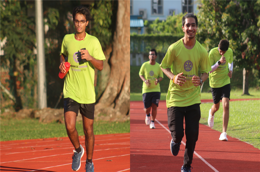 GIIS SMART students run for a cause