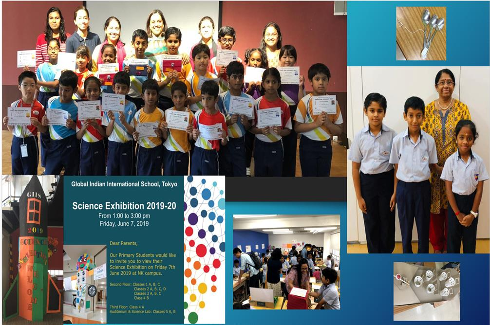 Students exhibit great talent at science exhibition