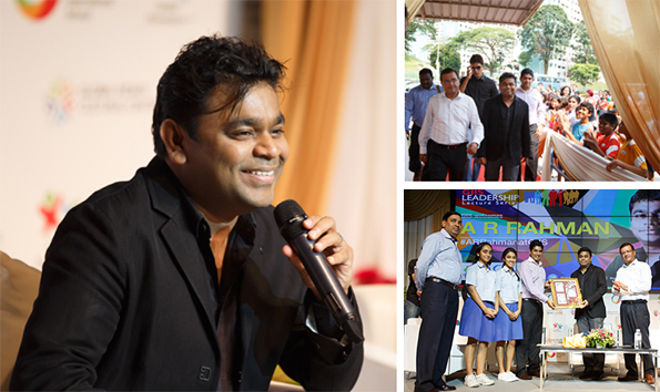 Interactive session with Music Maestro AR Rahman