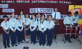 Beautiful melody by GIIS Choir for their archer friends