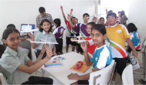 Giis India Campuses Introduce Robotics Education In The Classroom