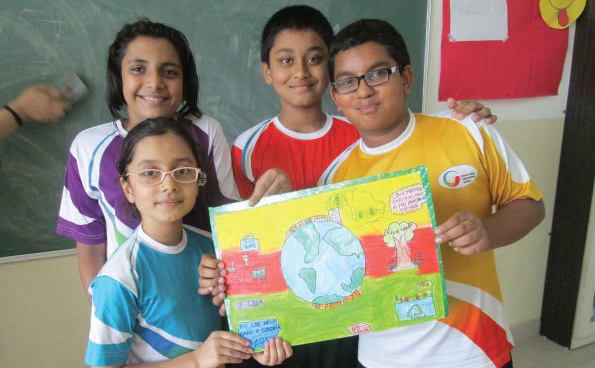 Environment Themed Poster Making Competition Sparks Creativity At